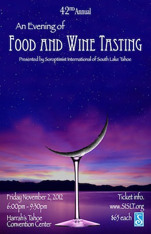 Food and Wine Tasting Poster